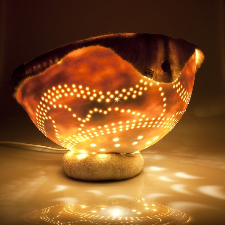 lamp 'porselein-vilt nr1' van Mote | Markita.nl