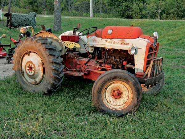 1958 Ford 8n Tractor : Best images about ford tractors on pinterest old