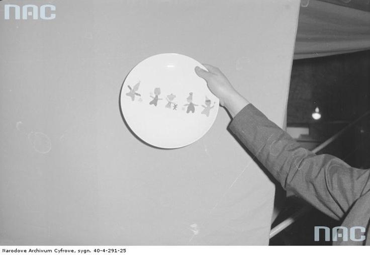 Plate, 1967-83.