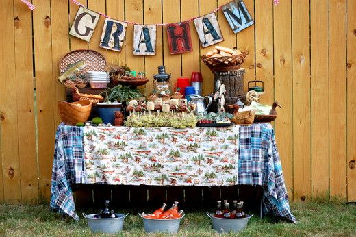 Graham's Backyard Camping Party   CatchMyParty.com