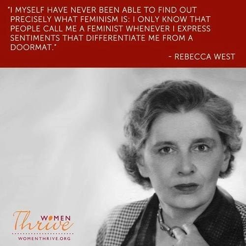 25 Famous Quotes That Will Make You Even Prouder To Be A Feminist... except for the unfortunate appropriation.