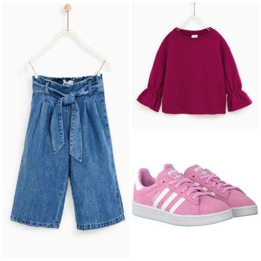 Broekrok / culotte outfit // Kids Fashion
