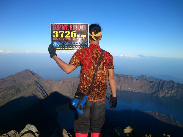 Paek of Rinjani Mt.