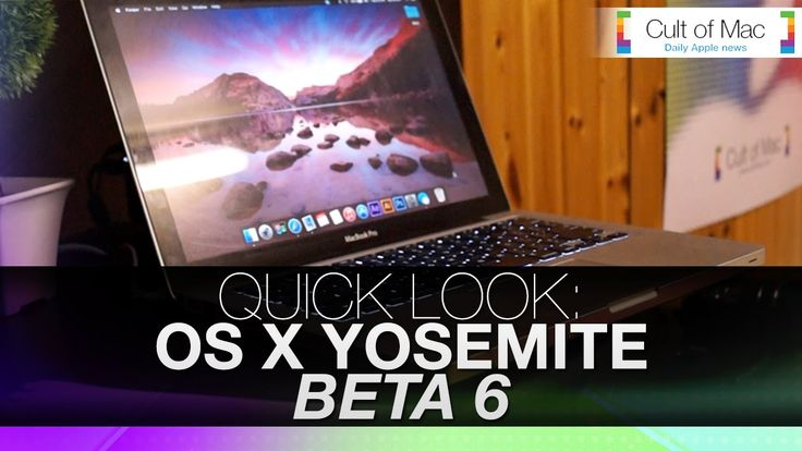 Quick Look: OS X Yosemite Beta 6 【動画】「OS X Yosemite Developer Preview 6」での変更点を紹介する動画