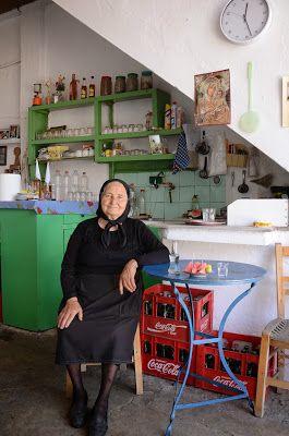 Αη Γιώργος, Λασήθι,  Το καφενείο της κυρά Δέσποινας