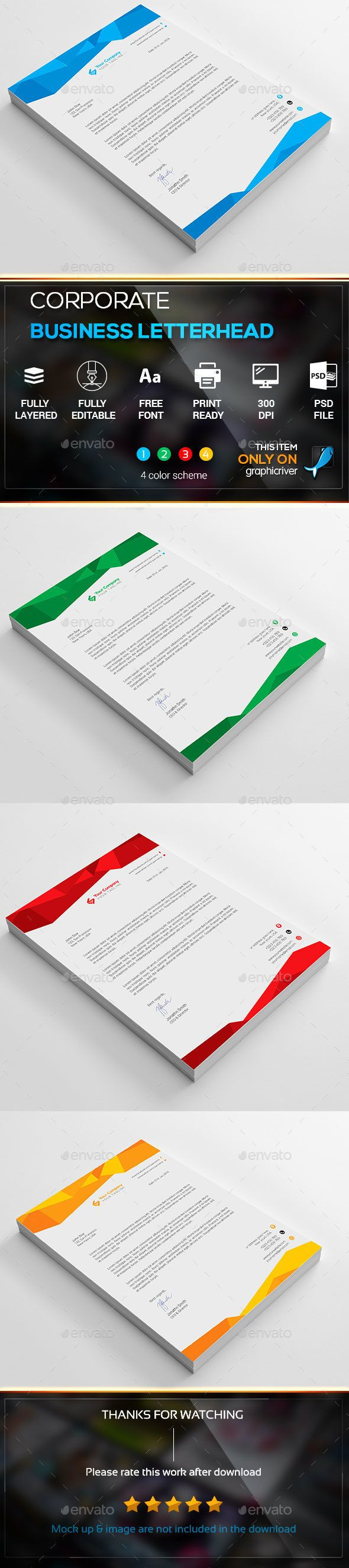 25 Trending Free Letterhead Templates Ideas On Pinterest Free