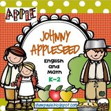 Johnny Appleseed – 81 pages of English and Math tasks. This pack will assist in highlighting the importance of Johnny Appleseed in American History History.
