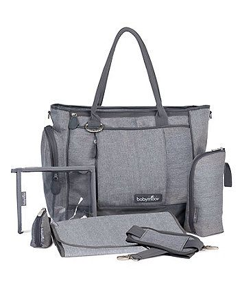 Babymoov Essential Maternity Bag - Smokey Grey - baby changing bags - Mothercare