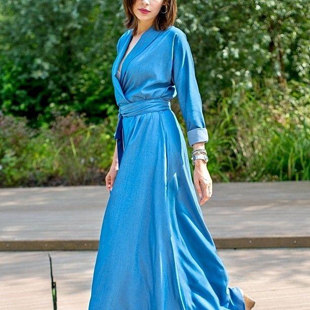 Available soon  Photo  @fashionseba #denim #maxidress #longdress #kimonodress #mrsnoproblem  #polishfashion #fashion #polushdesign #slowfashion