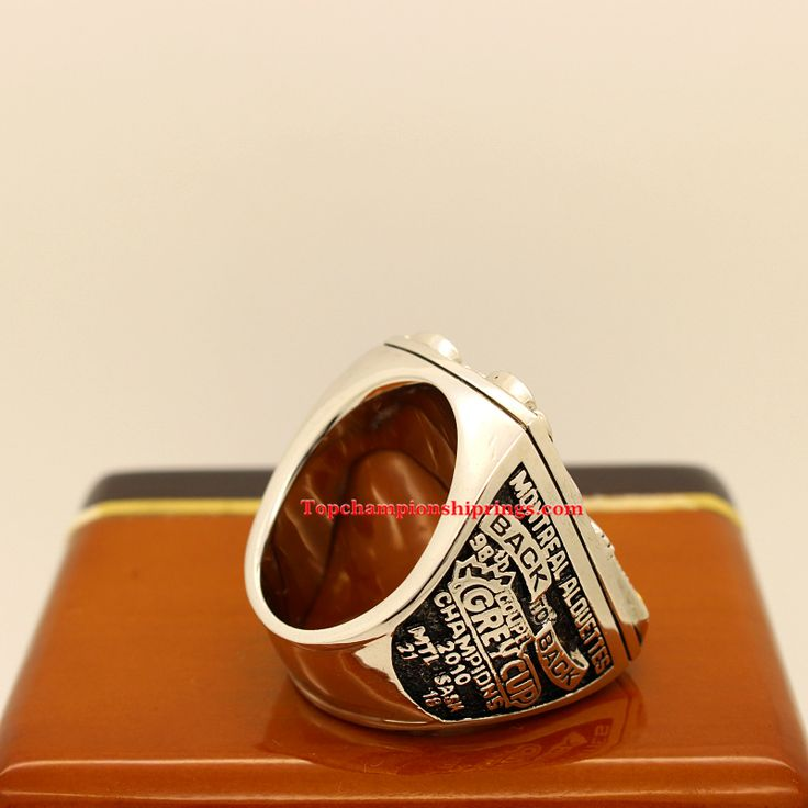 CFL 2010 Montreal Alouettes Grey cup Championship Ring