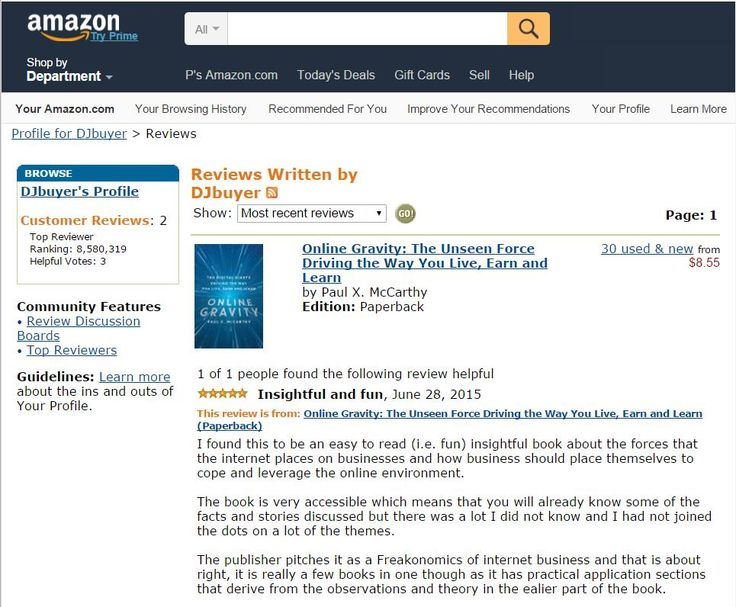 Online Gravity is ''Insightful and fun'' according to this initial Amazon reviewer http://bit.ly/AmazonOGReviews