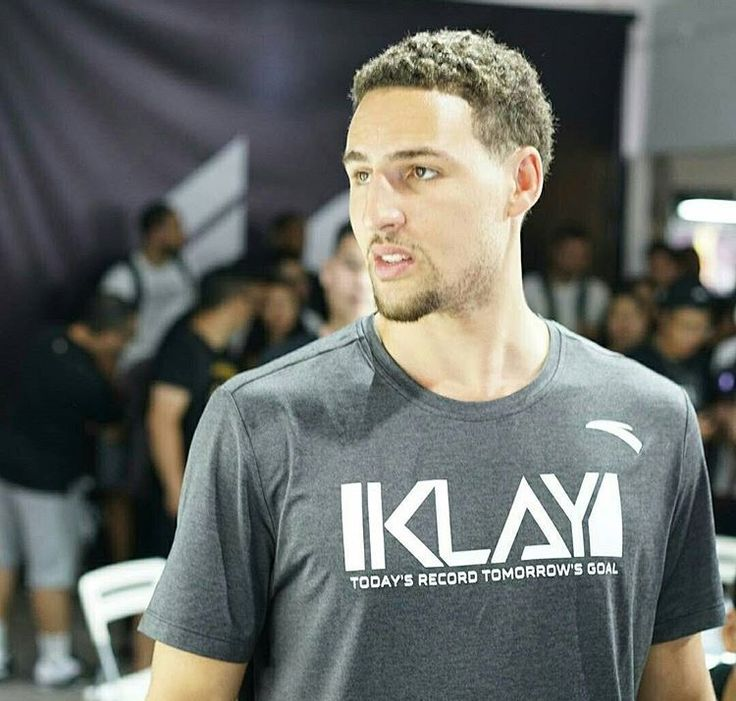 NBA player #KlayThompson of the #GoldenStateWarriors meets fans at Happy Family Mall on June 26 2017 in Shenyang China