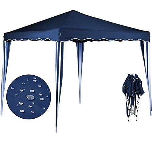 Tente pliante 3×3 m Tonnelle pavillon jardin pliable + Sac de transport Bleu Vert Brun Rouge Jaune Rose Orange: Price:44.95Description:…