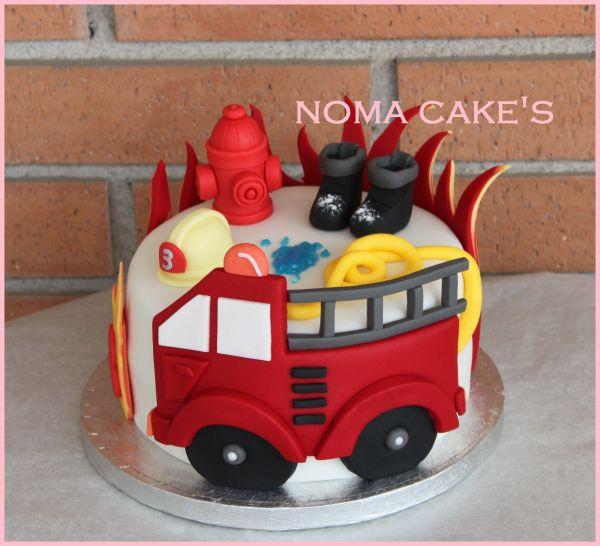 Tarta bomberos | Equilibra't & Noma Cake's