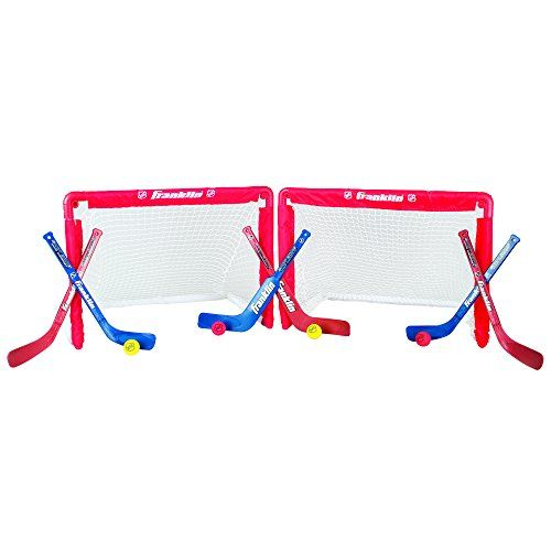 Franklin Sports NHL Mini Hockey Goal Set of 2 Franklin http://www.amazon.com/dp/B000O15GSG/ref=cm_sw_r_pi_dp_Ks9Fub06X5Y1A