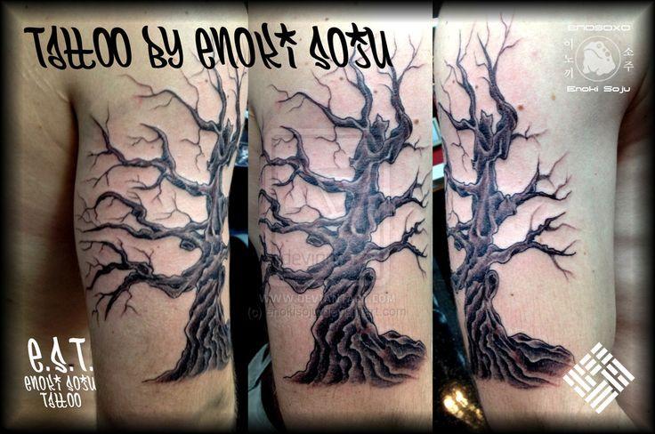 36 best dead tree tattoos images on pinterest dead tree for Ponderosa pine tattoo