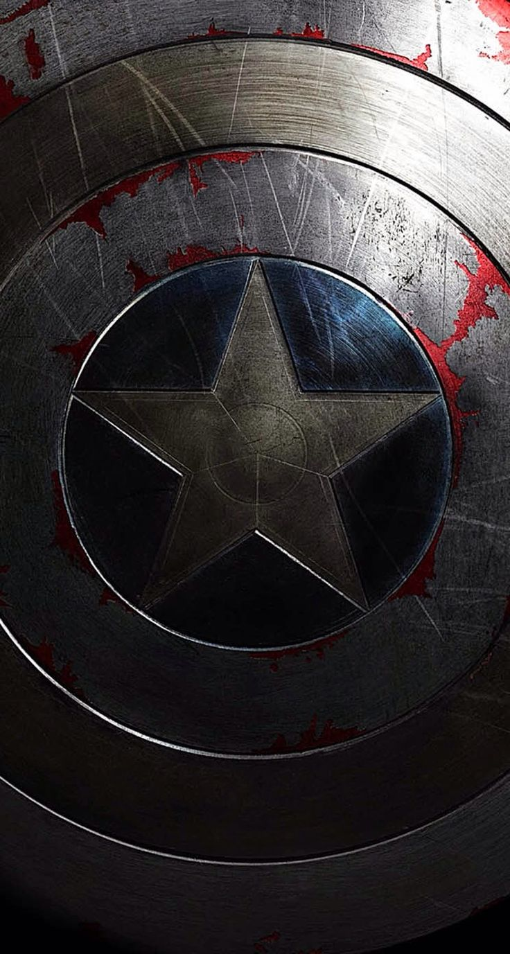 Captain America Shield iPhone wallpaper mobile9