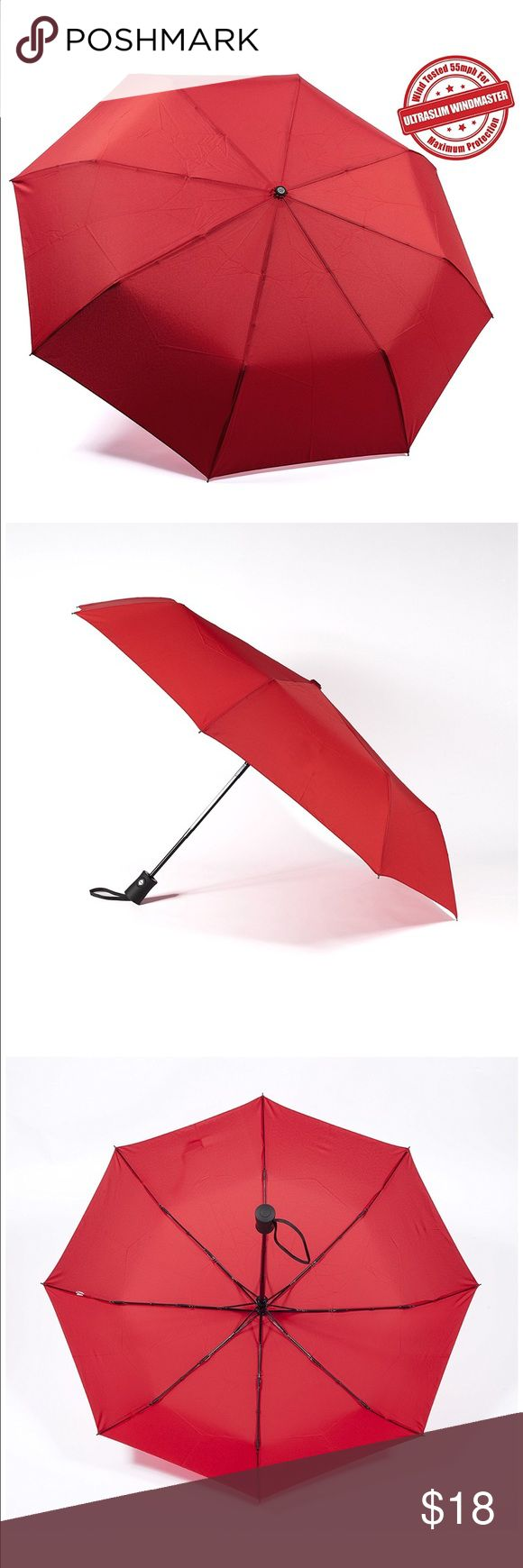 Kolumbo Travel Umbrella BEST-IN-CLASS CONSTRUCTION: Very Sturdy. Durability Tested For 5000 Times. High Quality Stainless Steel Construction For Long And Rust-Free Lifespan. Premium Quality Canopy Is Made With Pongee Which Is Very Strong And Long Lasting But Much Light Weighted Than Polyester. It Is Also Highly Water Repellent So The Fabric Won't Easily Soaked. Your Umbrella Will Dry A Lot Faster. Accessories Umbrellas