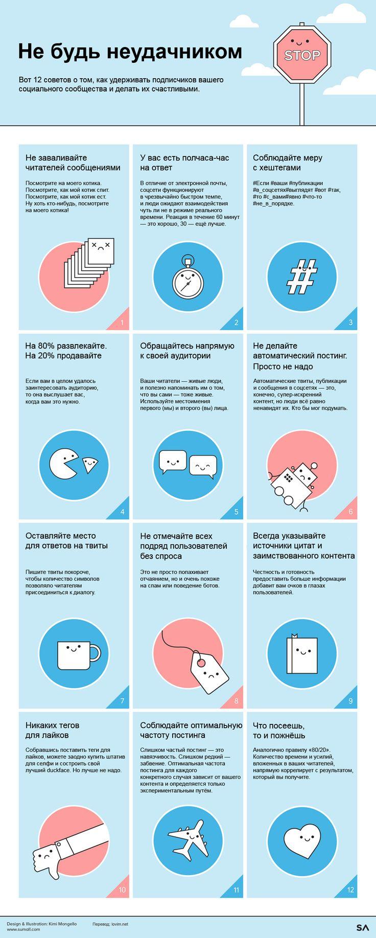 Инфографика: социальные сети 2015