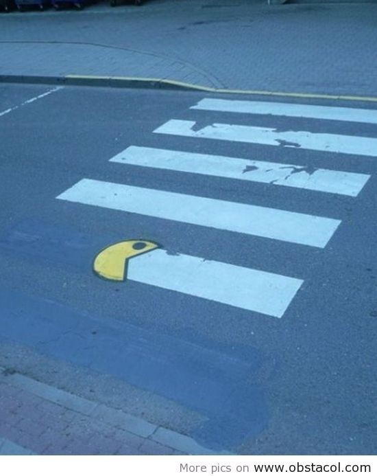Pac-man works for the DOT?