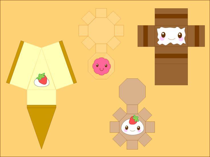 The Bakery Papercraft by CutyCandy27.deviantart.com on @DeviantArt