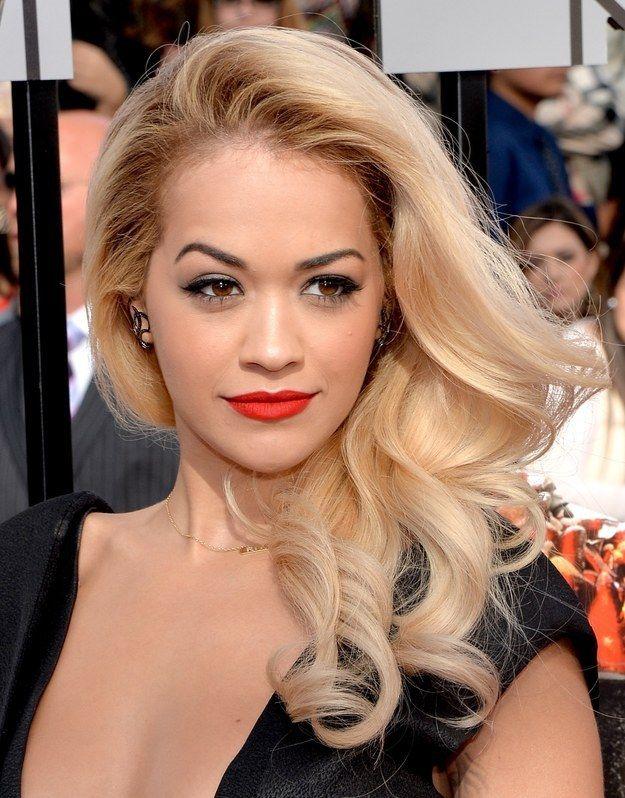 Rita Ora| The Best Makeup On The MTV Movie Awards Red Carpet