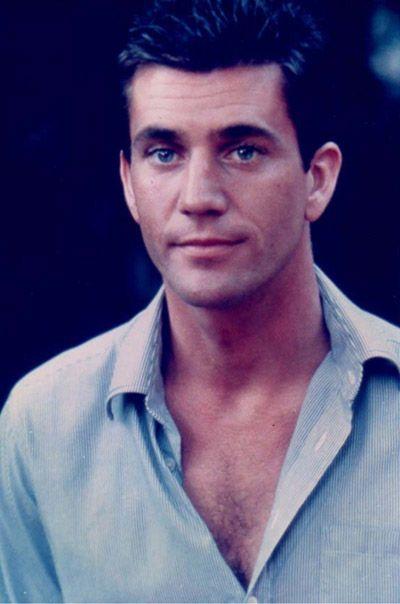 Mel Gibson young. Phew.