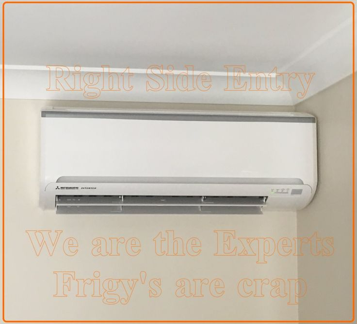 Another side entry Mitsubishi Air conditioning installations Brisbane in apalaba