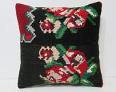 20x20 kilim pillow large kilim rug 20x20 pillow 20x20 pillow case extra large pillow 20x20 couch pillow pillowcase 20x20 floral pillow 25896
