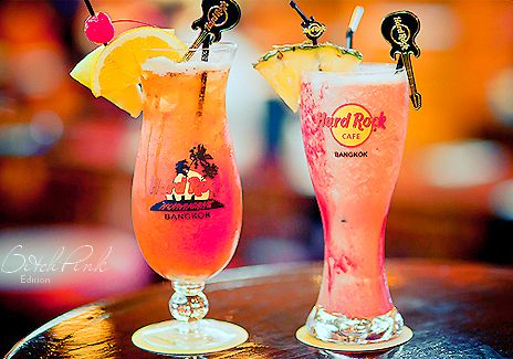Hard Rock Cafe drinks. #hardrock #andflowing