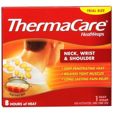 ThermaCare Heat Wraps Neck Wrist  Shoulder 1Count Pack of 9 >>> Details can be found by clicking on the image.