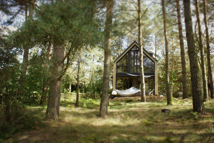Dom wakacyjny zaprojektowany i zbudowany przez SVOBO   Vacation home designed and built by SVOBO