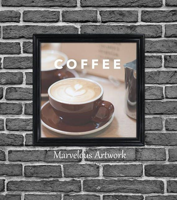 Bedroom decor, Coffee sign Coffee poster Coffee Shop sign Coffee kitchen