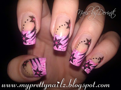 Mash Nails Review French Tip Nail Art Design Video Tutorial