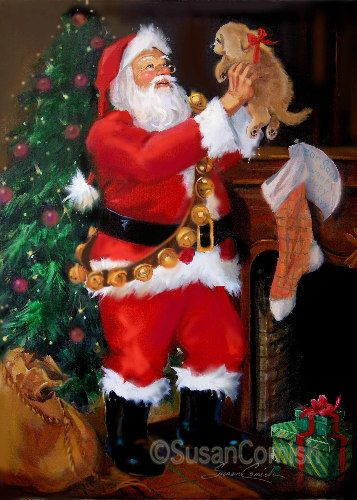 Susan Comish Christmas Art Gallery | Original Quality Christmas Prints