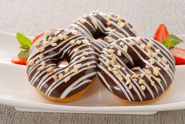 Delicious Donuts to luch