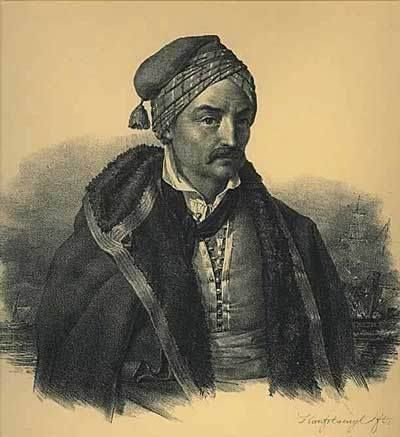 Προσωπογραφία Κωνσταντίνου Κανάρη, έργο του Karl Krazeisen.
