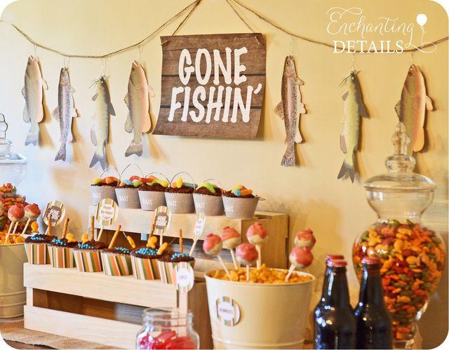 """Photo 2 of 12: Fishing / Birthday """"Gone Fishin' Birthday Party"""""""