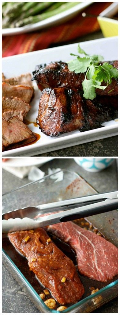 Grilled Tri-Tip Steak with Molasses Chili Marinade Recipe ...