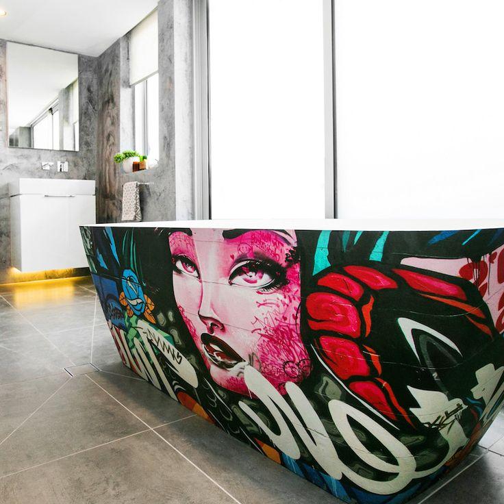 Caro and Kingi Room 1 | Bathroom #theblock #theblockshop