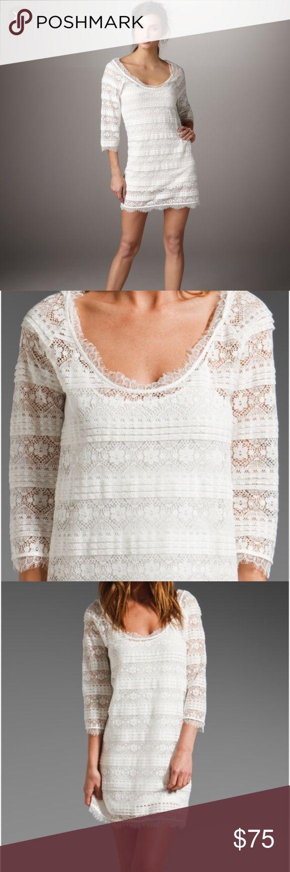 White apron brea - Joie Lace Brea Dress Joie Lace Brea Dress Worn Once For Photos Slip Is