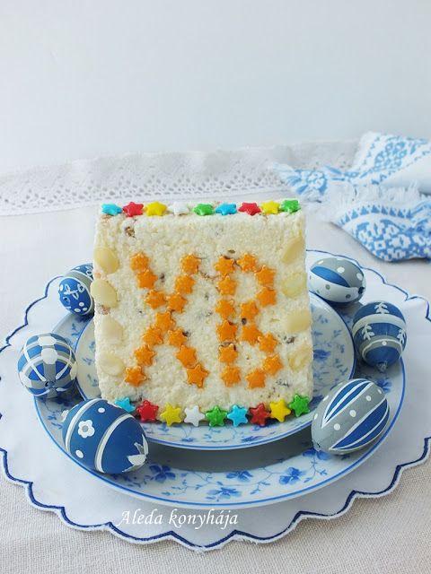 Aleda konyhája: Pashka avagy Orosz tehéntúrós desszert