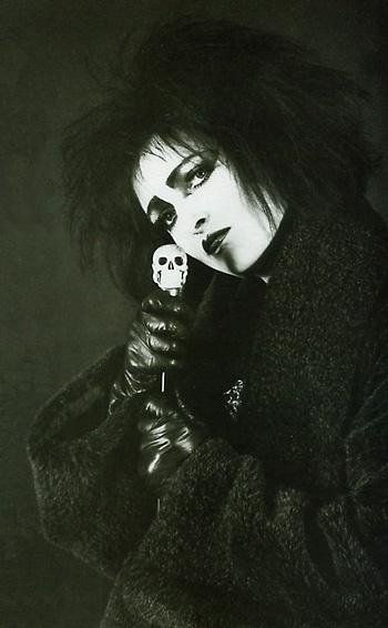 Siouxie Sioux. The mother of the Goth subculture.