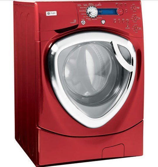 Although integrated washer and dryers are pretty common in Europe, they've just started appearing stateside. It definitely cuts down the amount of space needed to have a laundry station if you have only one appliance to do your washing.