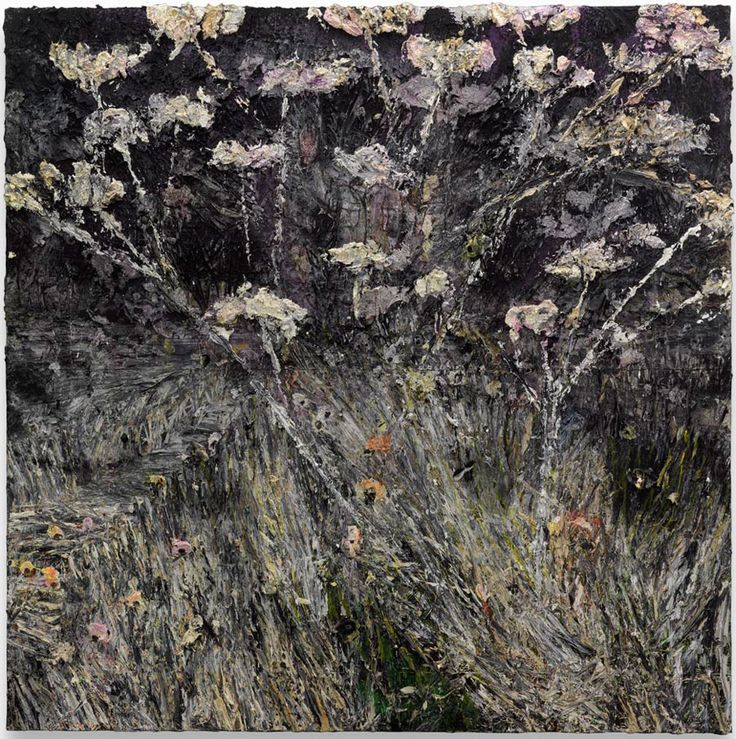 ANSELM KIEFER Morgenthau Plan, 2012 Acrylic, emulsion, oil and shellac on photograph mounted on canvas 149 5/8 x 149 5/8 inches (380 x 380 cm)