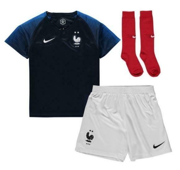 Maillot équipe de France 2 étoiles Enfant