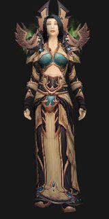 Sunwell Priest Vestments - Transmog Set - World of Warcraft