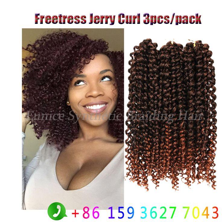 Find More Bulk Hair Information about 3bundles Ombre 1B