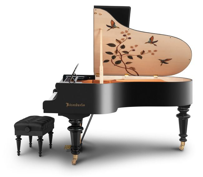 Yamaha unveils it's first design of Bosendorfer's new Marquetry Series of Grand Pianos...