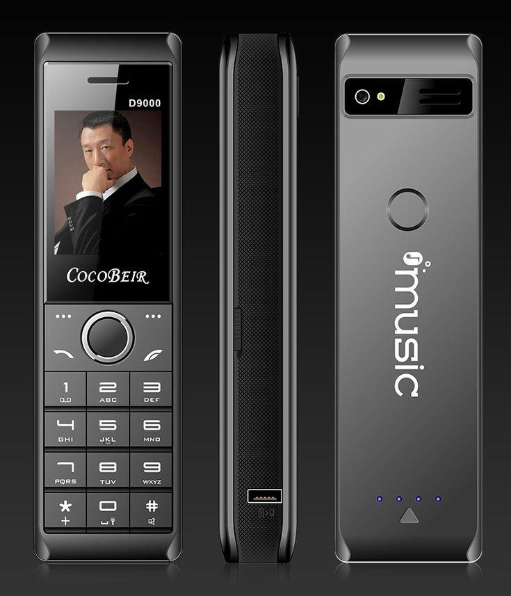 D9000 2.6'' 10000mAh Power Bank Flashlight Dual SIM Long Standby Retro M…